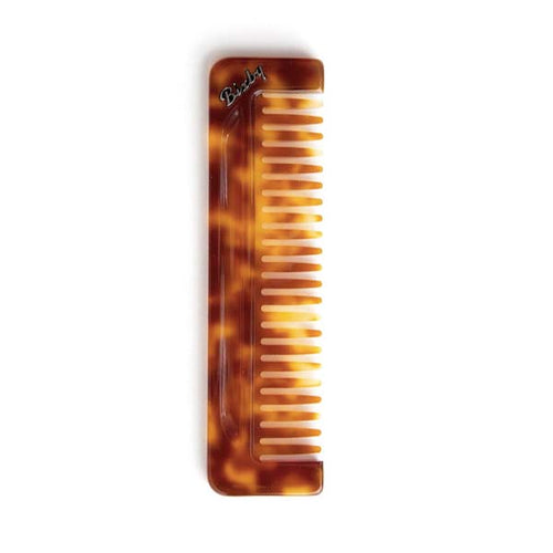 Bixby Carson Wide Tooth Comb Amber