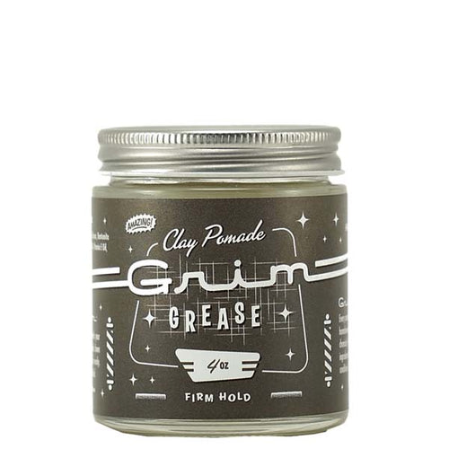 Grim Grease Firm Hold Clay Pomade