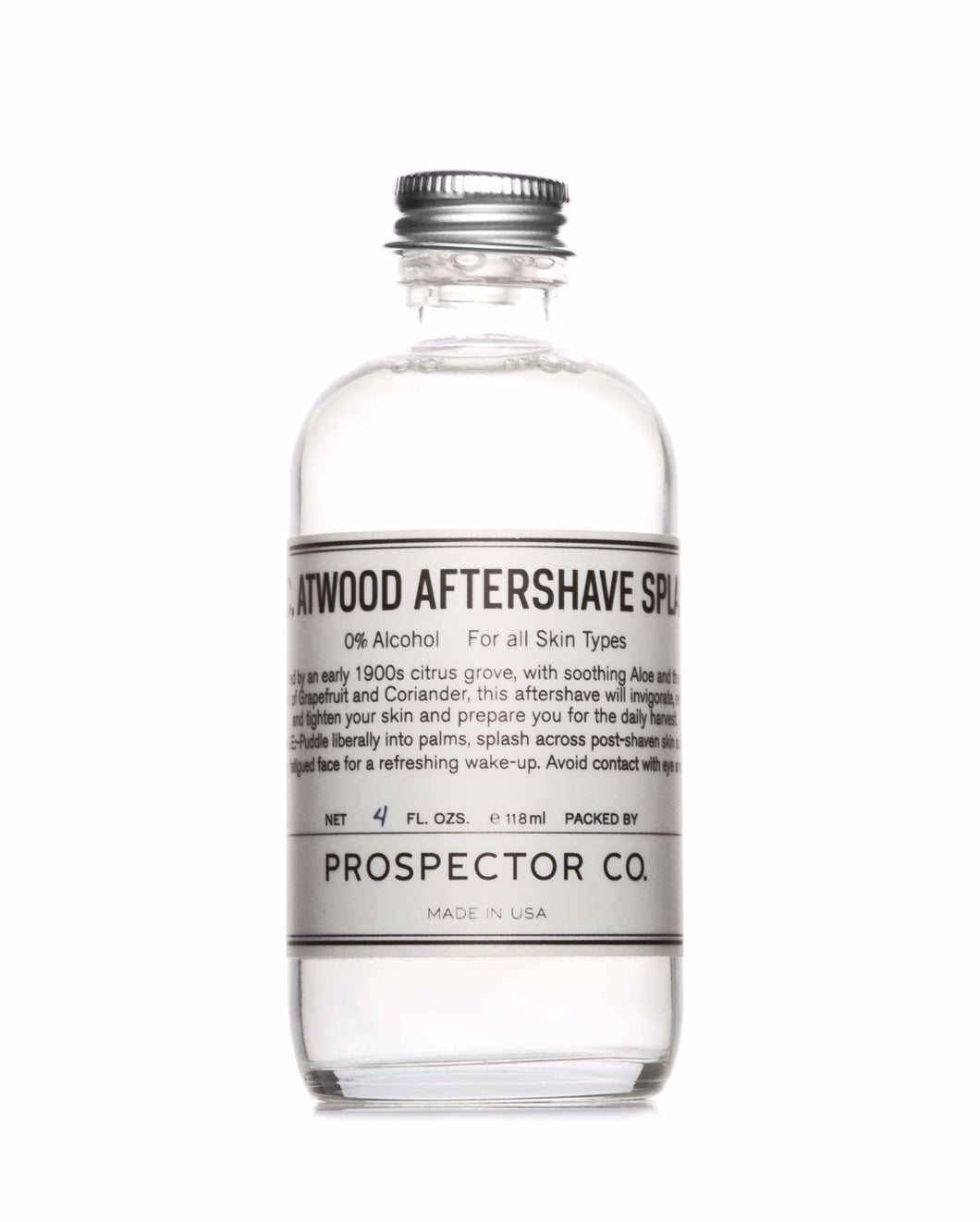 K.C. Atwood Aftershave