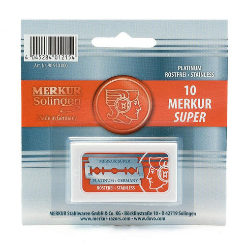 Merkur Double-Edge Safety Razor Blades