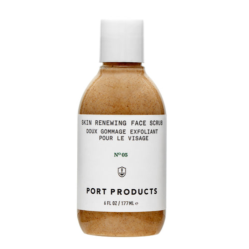 Port Products gently exfoliating Skin Renewing Face Scrub