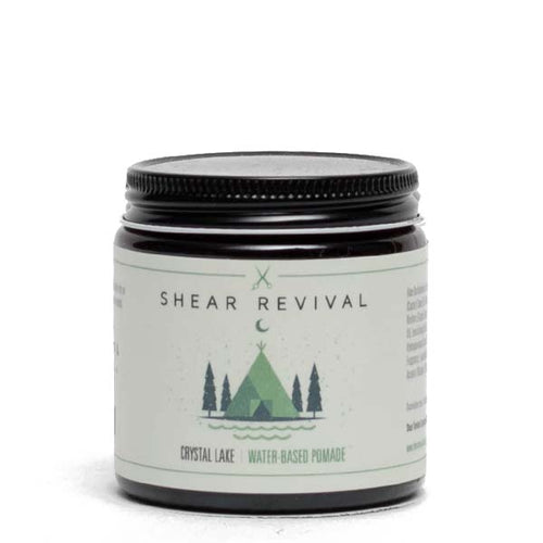 Shear Revival Crystal Lake Water-Based Pomade