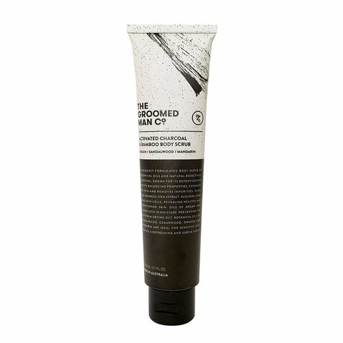 Activated Charcoal & Bamboo Body Scrub