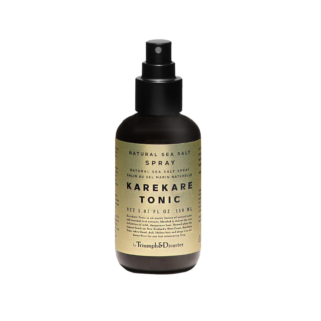 Triumph and Disaster Karekare Tonic natural sea salt spray