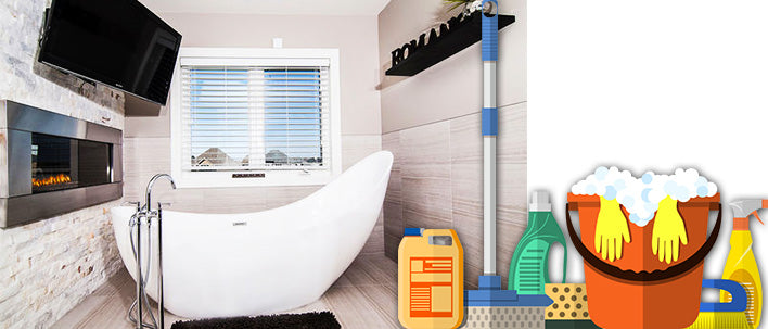 Right Ways to Clean Your Bath Tub