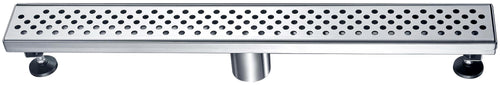 Dawn Stainless Steel Linear Shower Drains 24in.LRE240304 Brisbane River Series - SUNNY SHOWER