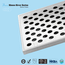 Load image into Gallery viewer, Dawn Stainless Steel Linear Shower Drains 24in.LRE240304 Brisbane River Series - SUNNY SHOWER