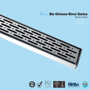 Dawn LRO series Stainless Steel Invisible Linear Shower Floor Drain Wetroom - SUNNY SHOWER