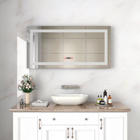 Wondrous Sunny Shower Vanity Mirror With Light Wall Mounted Bathroom Beutiful Home Inspiration Xortanetmahrainfo