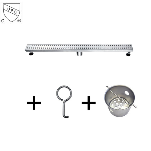 Dawn Stainless Steel Linear Shower Drains 36in.LNE360304 Brisbane River Series - SUNNY SHOWER