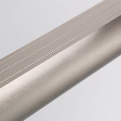 Top Rail Track in Brushed Nickel