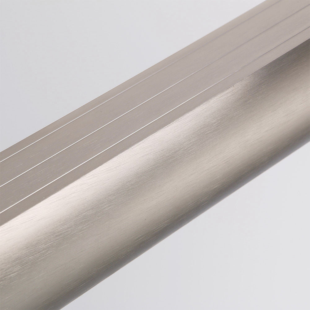 B020 Top Rail Track in Brushed Nickel, 60