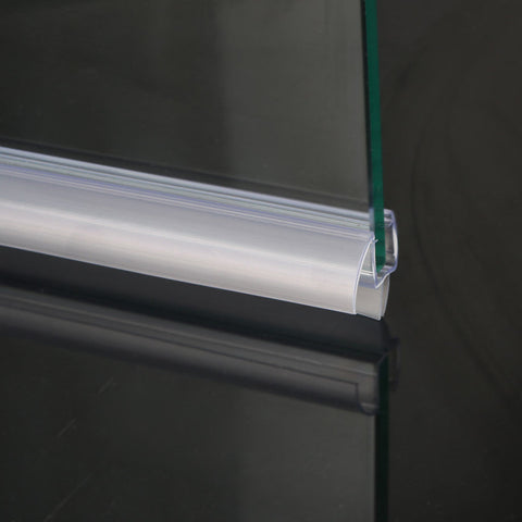 3 8 Quot Frameless Glass Shower Doors Bottom Seal Sweep Drip