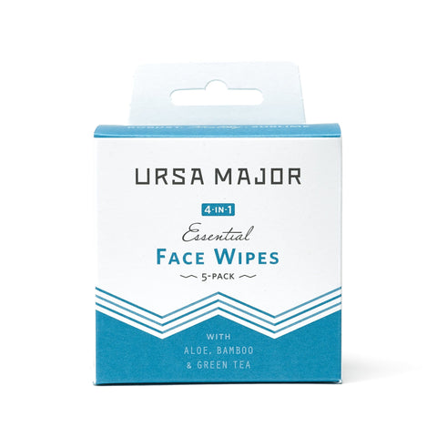 NEW Essential FACE WIPE 5-Pack