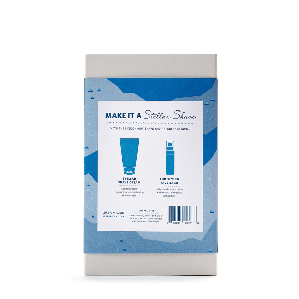 Ursa Major Mister Shave Set Back
