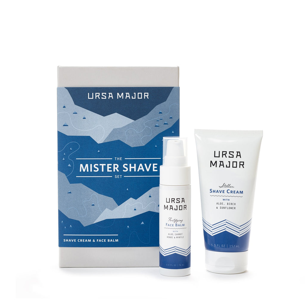 Ursa Major Mister Shave Set