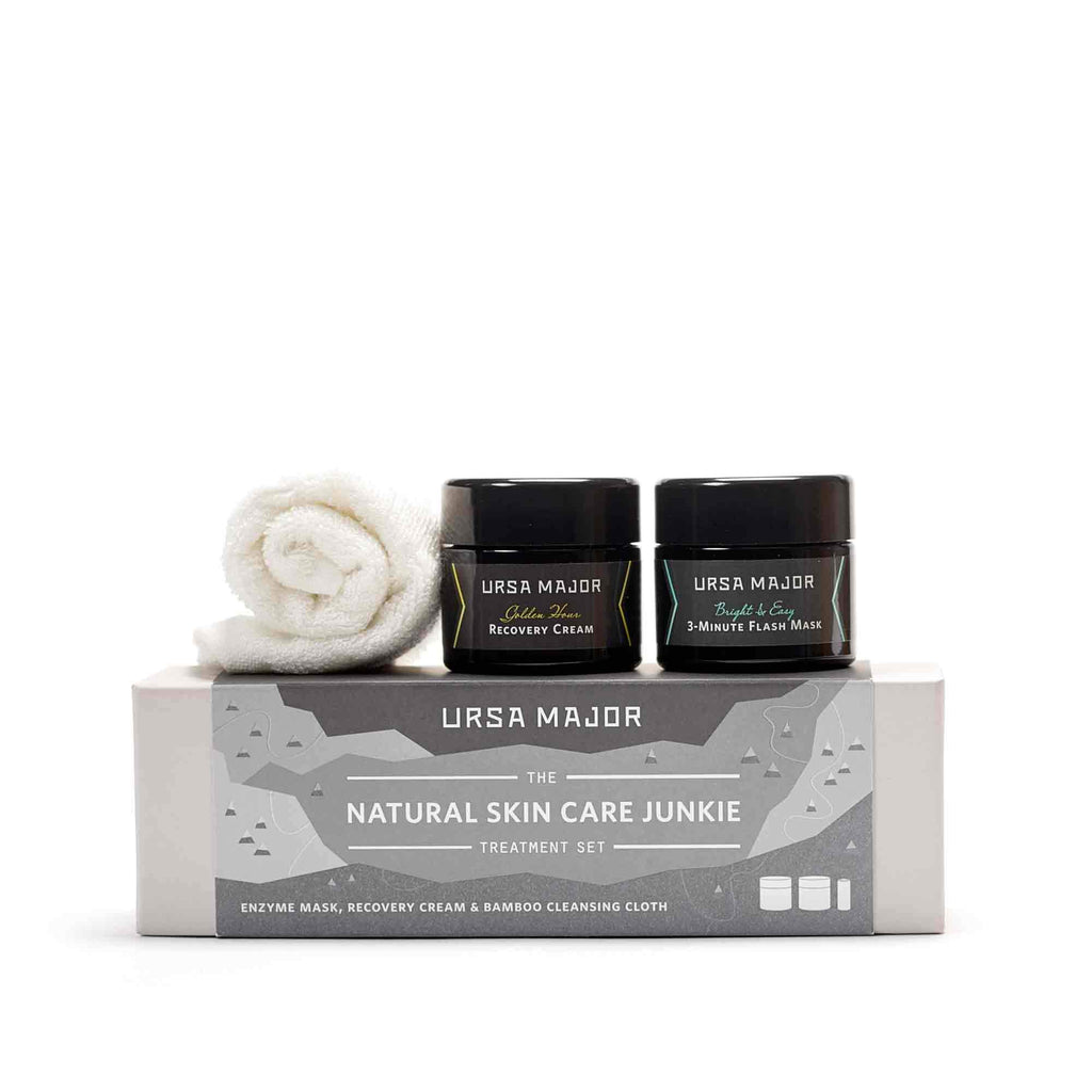 Ursa Major Natural Skin Care Junkie Treatment Set