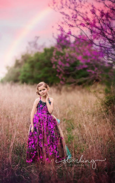 EDEN sequin couture gown flower girl dress
