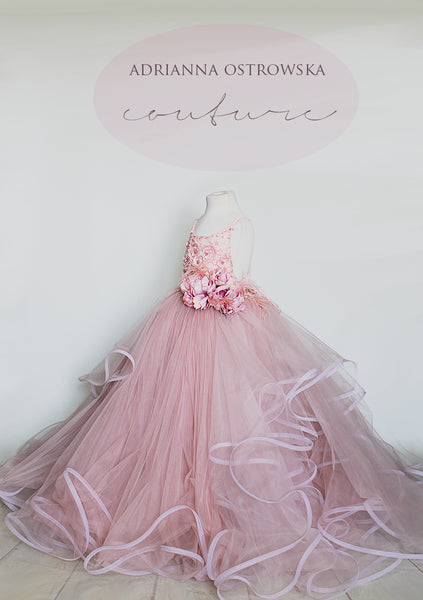 LIMA boho style tulle dress wedding photoshoot