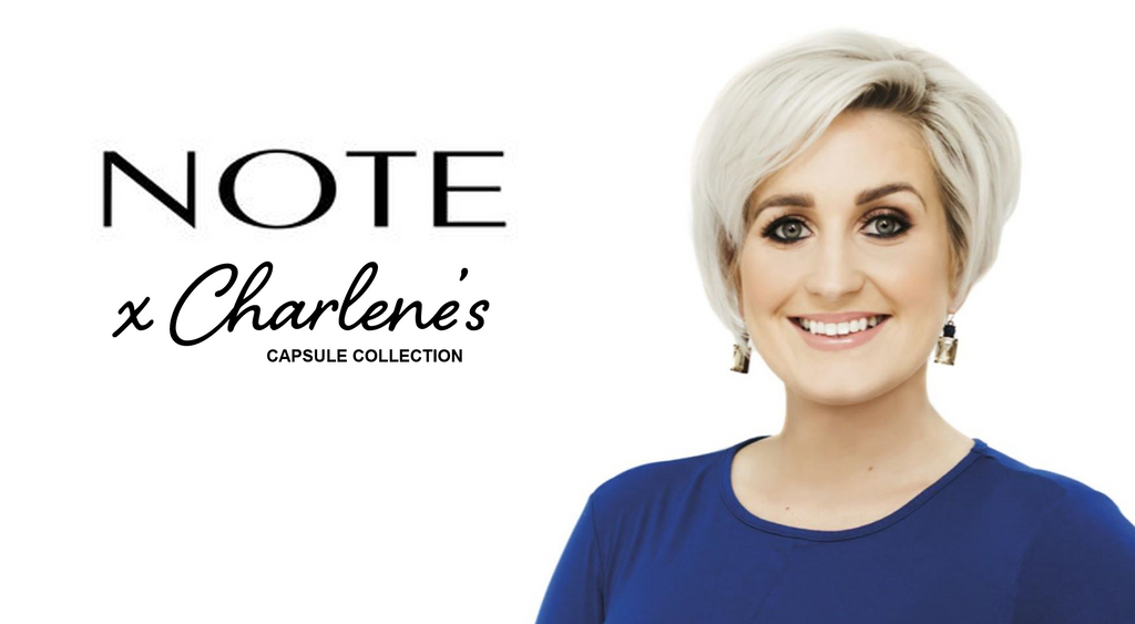 Charlene's Capsule Collection x Note Cosmetics