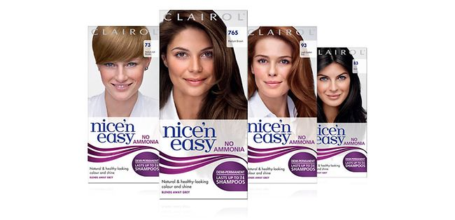 Clairol Nice 'n' Easy Semi Permanent Hair Dye