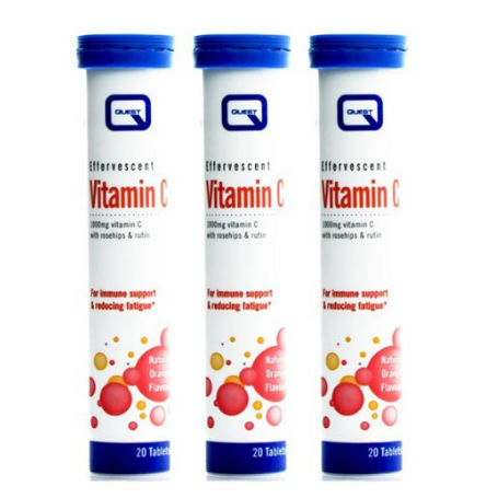 Vitamin C Quest Effervescent 20tabs flynns pharmacy