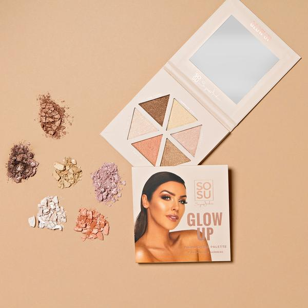 SOSU By Suzanne Jackson The Glow Up Highlighter Palette