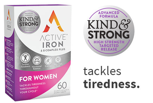 Active Iron & B Complex Plus For Women 30 Day Supply