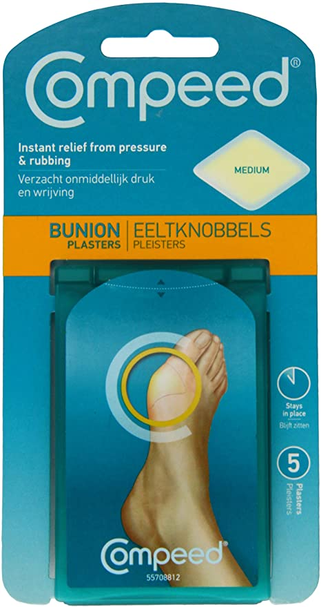 Compeed Bunion Plaster Medium 5 Pack