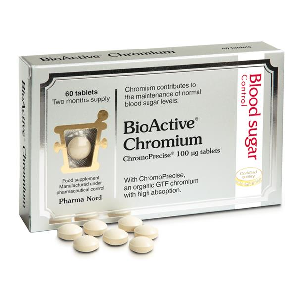 PharmaNord BioActive Chromium 60