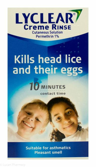 Lyclear Creme Rinse Headlice Treatment 2 x 59ml