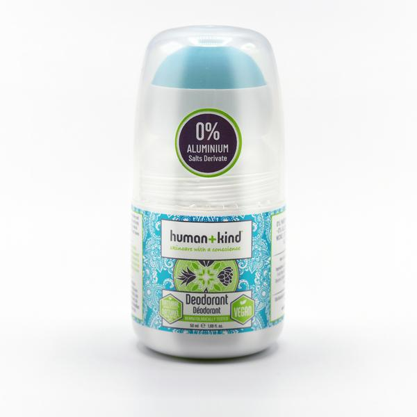 Human+Kind Roll On Deoderant 0% Aluminium Salts