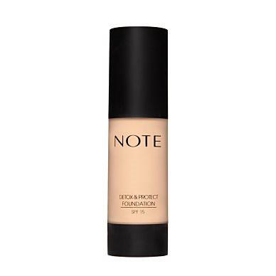 Note Cosmetics Detox & Protect Foundation