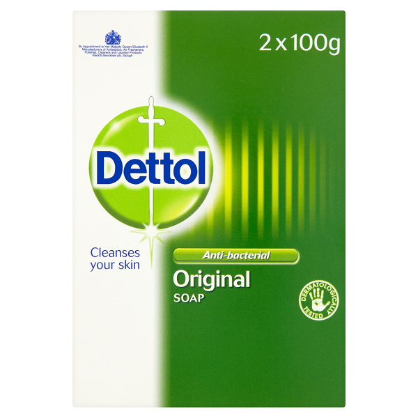 Dettol Anti-Bacterial Original Soap Twinpack