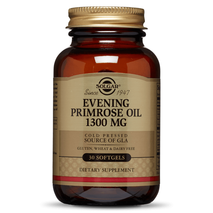 Solgar Evening Primrose Oil 1300mg 30