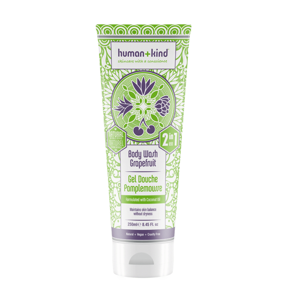 Human+Kind Grapefruit Body Wash