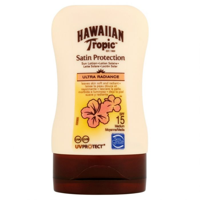 Hawaiian Tropic Satin Protection SPF 15 Lotion 100ml