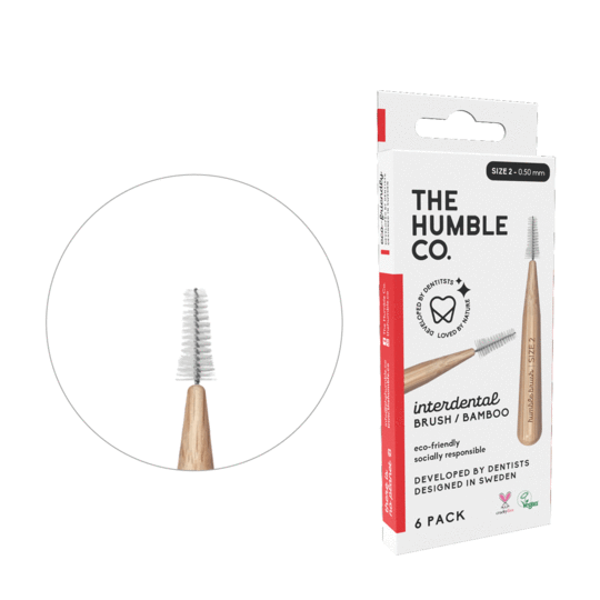 The Humble Co Interdental Bamboo Brush