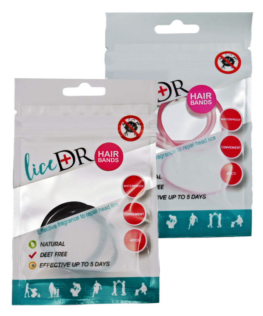 Lice DR Head Lice Preventing Hair Bands / Hair Ties