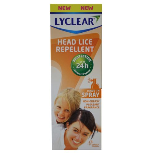 Lyclear Headlice Repellent Leave In Spray