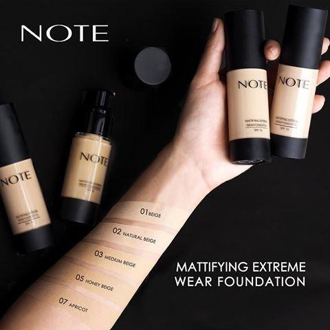 Note Cosmetics Mattifying Foundation
