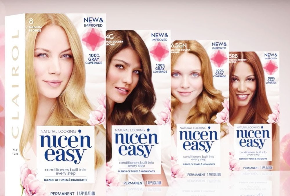 Clairol Nice 'n' Easy Permanent Hair Dye