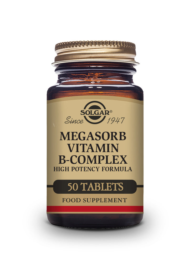 Solgar Megasorb Vitamin B-Complex High Potency 50