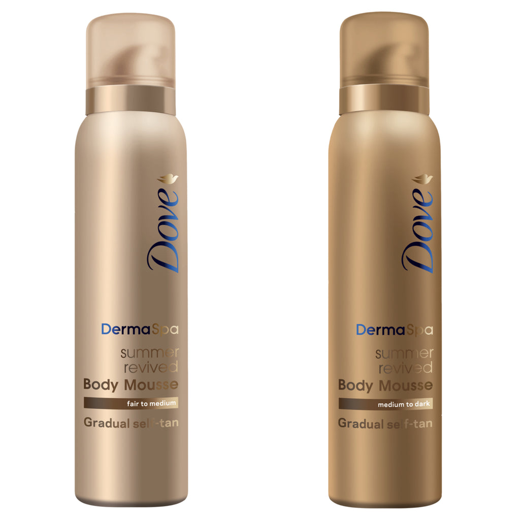Dove Derma Spa Self Tan Mousse