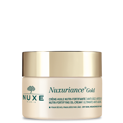 Nuxe nuxurience gold nutri-fortifying oil cream + free eye balm