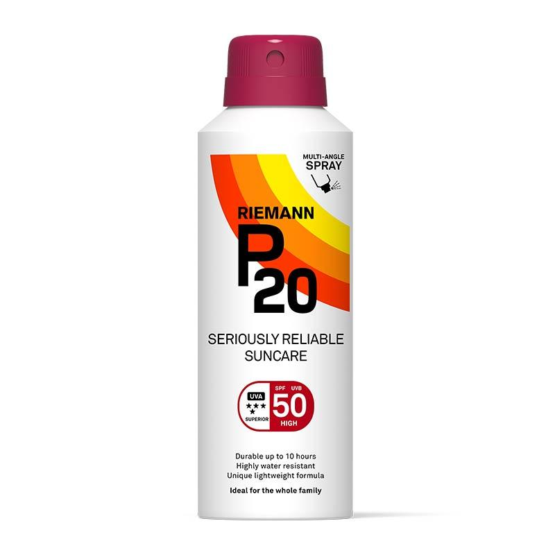 Riemann P20 Continuous Spray Sun Cream 150ml