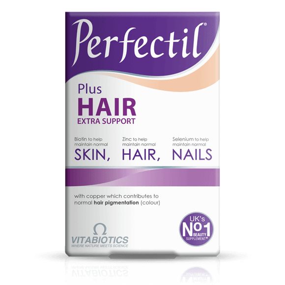 Vitabiotics Perfectil Hair Plus Extra Support 60