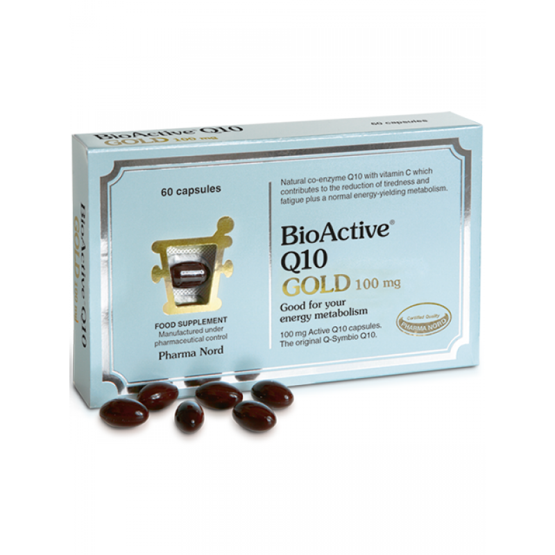 PharmaNord BioActive Q10 Gold 100mg 30