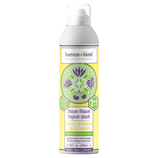 Human+Kind Shower Mousse Tropical Splash