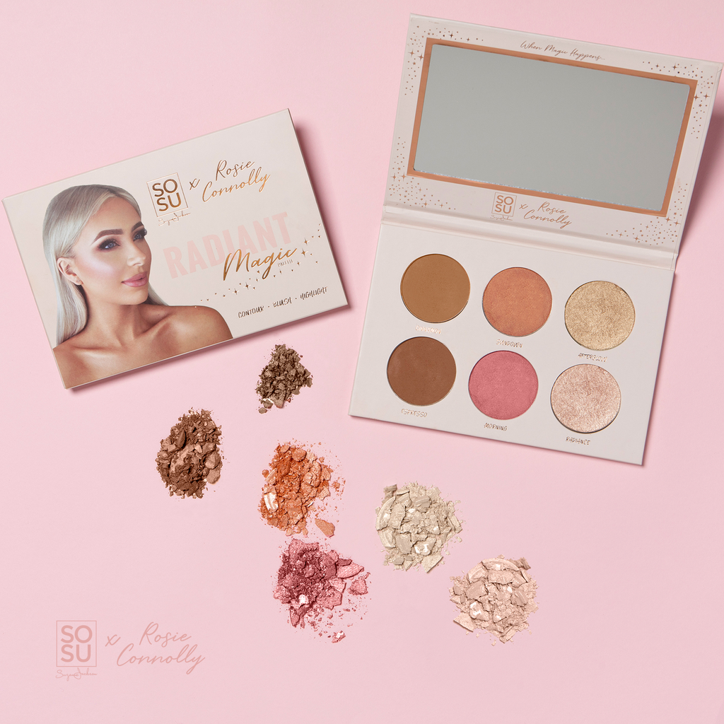 SOSU By Suzanne Jackson x Rosie Connolly Radiant Magic Palette